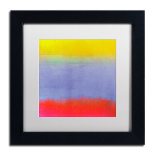 Color Bakery 'Gradients III' Matted Framed Art