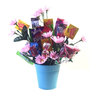 Link to Spring Flowers Candy Bouquet Similar Items in Gourmet Food Baskets