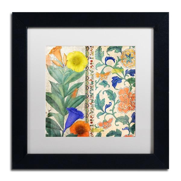 Color Bakery 'Summer Tango II' Matted Framed Art