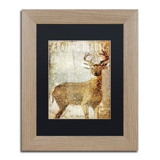 Color Bakery 'Winter Game Two' Matted Framed Art