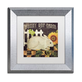 Color Bakery 'Vermont Farms III' Matted Framed Art
