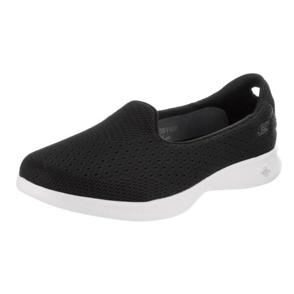 Women's Skechers GO STEP Lite Origin Slip-On Black/White