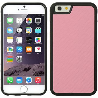 Insten Hot Pink/ Black Hard Snap-on Case Cover For Apple iPhone 6/ 6s