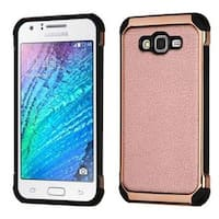 Insten Hard Snap-on Dual Layer Hybrid Case Cover For Samsung Galaxy J7 2015