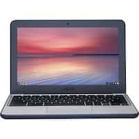 "Asus Chromebook C202SA-YS02-GR 11.6"" LCD Chromebook - Intel Celeron N3060 Dual-core (2 Core) 1.60 GHz - 4 GB LPDDR3 - 16 GB Flas"