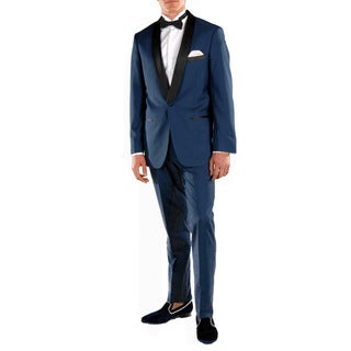 Ferrecci Falls Slim Fit Shawl Collar 2-piece Tuxedo