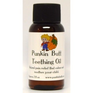 Punkin Butt 1-ounce Teething Oil
