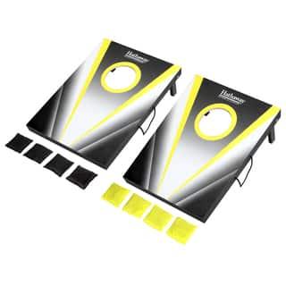 Compact Cornhole Bean Bag Toss Game Set - Black https://ak1.ostkcdn.com/images/products/14777394/P21299609.jpg?impolicy=medium