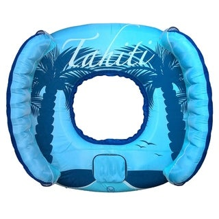Blue Wave Drift and Escape 4-person Inflatable Float