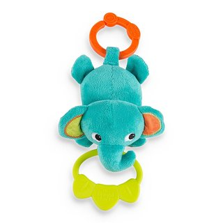 Bright Starts Elephant Tug Tunes Musical Plush Toy