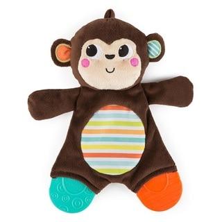Bright Starts Monkey Snuggle Teether Plush Toy