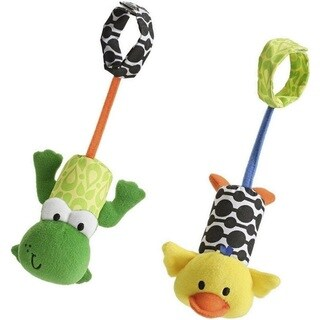 Infantino Frog and Duck Tag Along Chimes