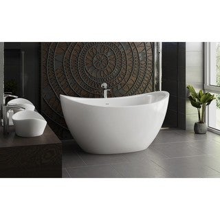 Aquatica Purescape 171 Mini Freestanding Cast Stone Bathtub