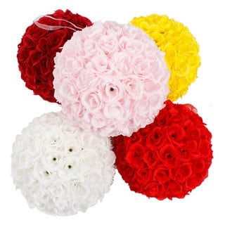 9.84-inch Flower Ball Wedding Decoration (Set of 2)