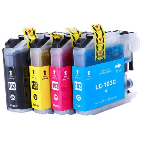 LC103XL Ink Cartridge 1BK/1C/1M/1Y (Pack of 8)