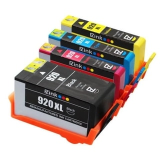 HP 920XL Remanufactured 1BL/1C/1M/1Y Ink Cartridge (Pack of 8)