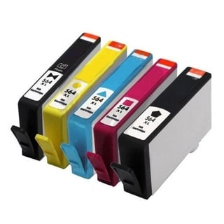 10pcs Remanufactured HP 564XL Ink Cartridge 1BL/1C/1M/1Y/1Pbk
