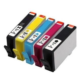 10pcs Remanufactured HP 564XL Ink Cartridge 1BL/1C/1M/1Y/1Pbk