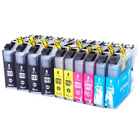 LC103XL 4BK/2C/2M/2Y Ink Cartridges (Case of 20)