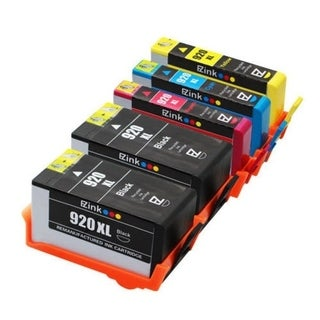 Remanufactured HP 920XL 2 Black/1 Cyan/1 Magenta/1 Yellow Ink Cartridges (Pack of 10)