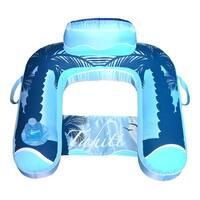 Drift + Escape U-Seat Inflatable Lounger - Blue