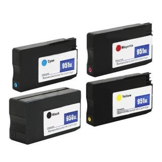 HP 950/951XL 1BL/1C/1M/1Y Remanufactured Ink Cartridges (Pack of 4)|https://ak1.ostkcdn.com/images/products/14777509/P21299693.jpg?impolicy=medium