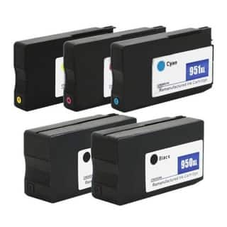 950XL 951XL Ink Cartridges for HP Officejet Pro 8610 8600 Plus (Set of 5)|https://ak1.ostkcdn.com/images/products/14777510/P21299694.jpg?impolicy=medium