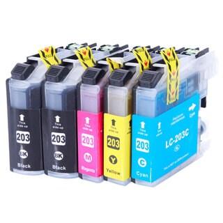 LC203XL 2BK/1C/1M/1Y Ink Cartridge (Pack of 5)
