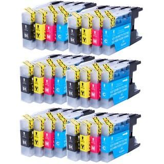 LC-12/40/71/73/75XL LC-400/1220/1240XL 12BK/4C/4M/4Y Ink Cartridge (Case of 24)