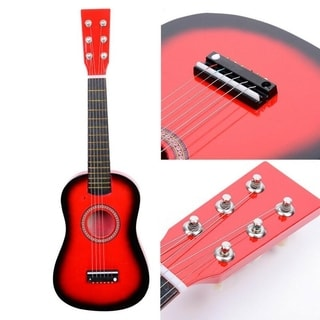Red 23-inch Acoustic Guitar