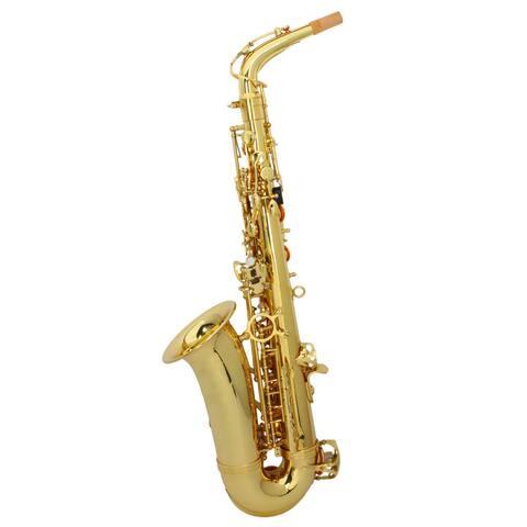 MBAT Gold Alto Drop E Saxophone