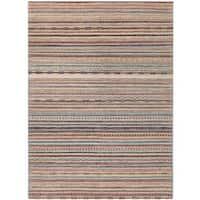 Herat Oriental Afghan Hand-knotted Vegetable Dye Gabbeh Wool Rug (6'4 x 8'9)