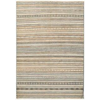 Herat Oriental Afghan Hand-knotted Vegetable Dye Gabbeh Wool Rug (6' x 8'9)