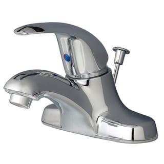 Builders Shoppe 2041 Classic Single Handle Centerset Lavatory Faucet with Pop-Up Drain