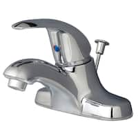 Builders Shoppe 2041 Classic Single Handle Centerset Lavatory Faucet with Pop-Up Drain