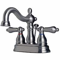Builders Shoppe 2026 Classic Two Handle Centerset Lavatory Faucet with Pop-Up Drain