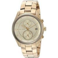 Michael Kors Women's MK6464 'Briar' Multi-Function Gold-Tone Stainless Steel Watch