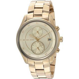Michael Kors Women's MK6464 'Briar' Multi-Function Gold-Tone Stainless Steel Watch