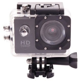Black Waterproof Sports Camera