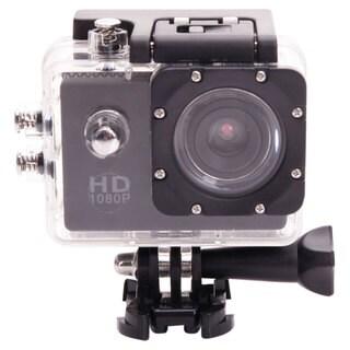 Black Waterproof Sports Camera