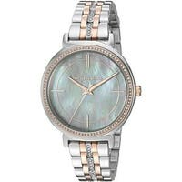 Michael Kors Women's  'Cinthia' Crystal Two-Tone Stainless Steel Watch