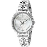 Michael Kors Women's  'Cinthia' Crystal Stainless Steel Watch