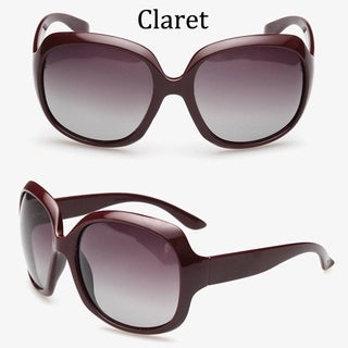 Designer Inspired Polarized Sunglasses Oversized C