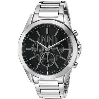 Armani Exchange Men's 'Dress' Chronograph Stainless Steel Watch