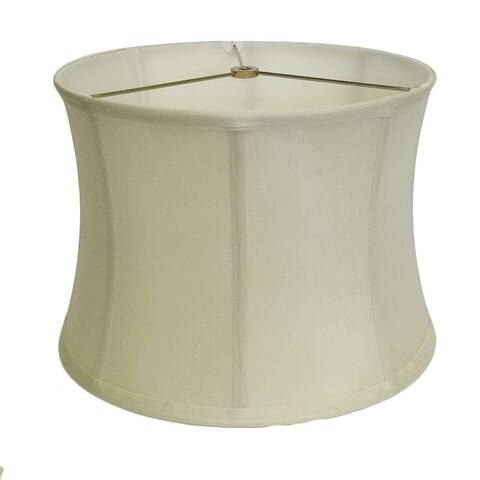 Off-white Hourglass Silk Shade