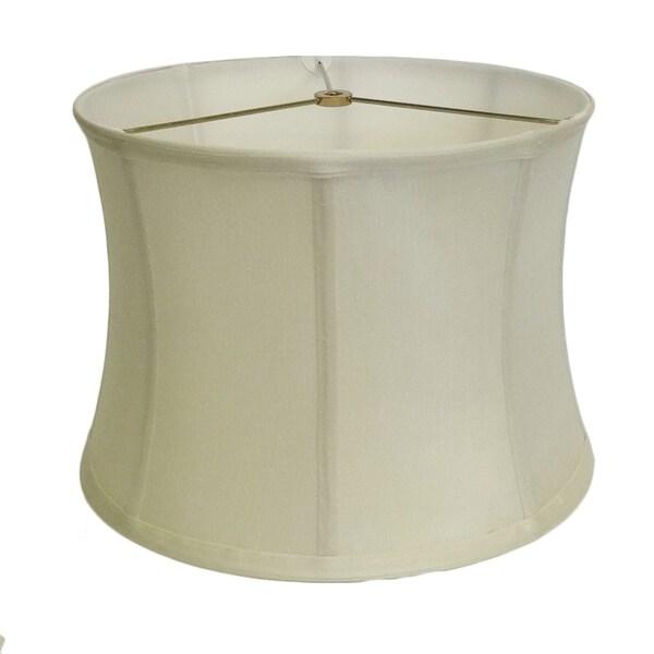 Off-white Hourglass Silk Shade
