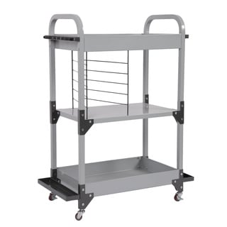 Tuff Stor by American Furniture Classics Heavy-Duty Metal Fishing Storage and Organization Cart