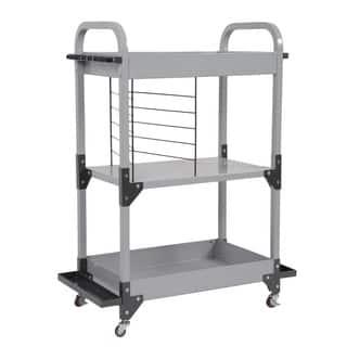 Tuff Stor by American Furniture Classics Heavy-Duty Metal Fishing Storage and Organization Cart https://ak1.ostkcdn.com/images/products/14778721/P21300787.jpg?impolicy=medium