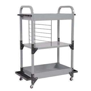 Tuff Stor by American Furniture Classics Heavy-Duty Metal Fishing Storage and Organization Cart