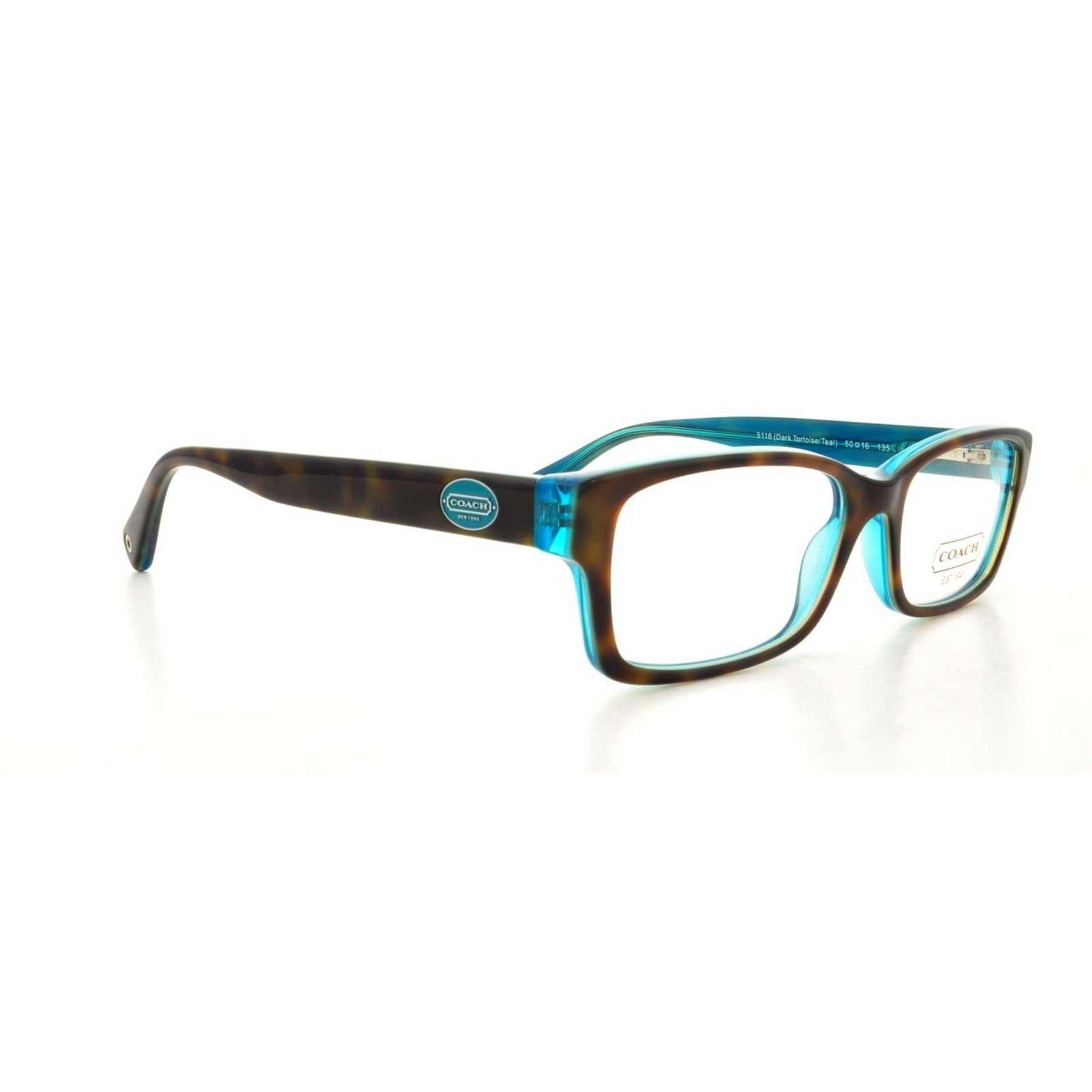 2c70261bb012 Rectangle Coach Eyeglasses | Find Great Accessories Deals Shopping at  Overstock